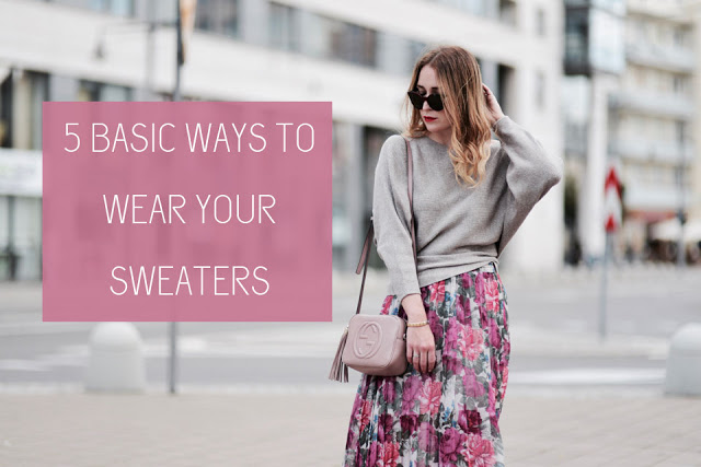 5 + 1 ways to wear your sweater in style