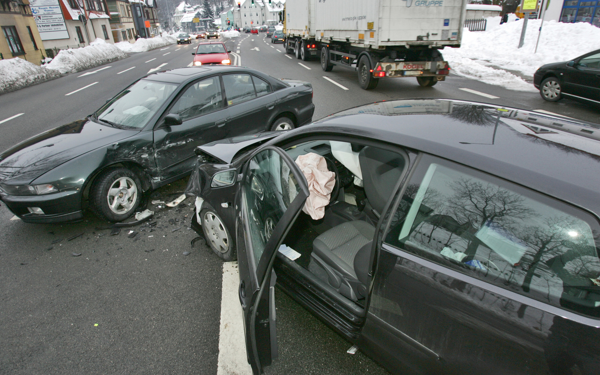 You Got T-Boned: Now What?
