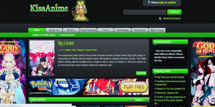 Kissanime – the very best kissanime alternate options website for watching anime motion Movies