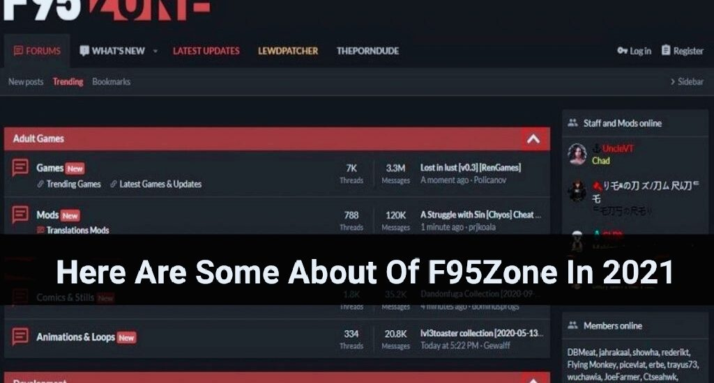 Here Are Some About Of F95Zone In 2021